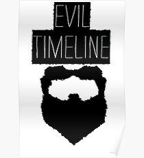 Evil Timeline Poster