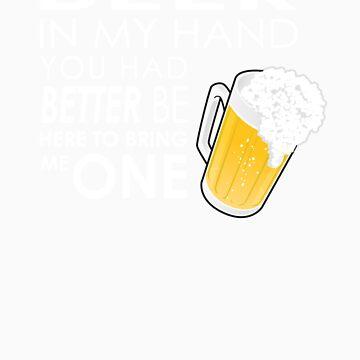 Beer In Hand by cmuggridge