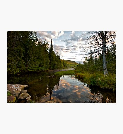 North River Sunrise Photographic Print