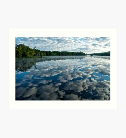 Adirondack Lake Art Print
