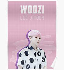 Seventeen - Pink Woozi Poster