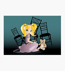 Twisted Tales - Goldilocks Tee and iPhone Case Photographic Print