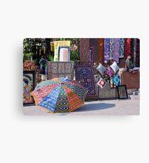 Fabrics, Materials, And Carpets Canvas Print