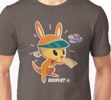 Roopert Kangaroo Delivery Expert (with Amelia) Unisex T-Shirt