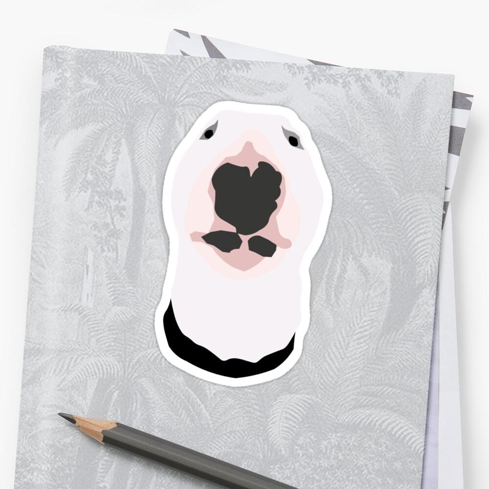 """Walter the meme dog"" Sticker by tavachan   Redbubble"