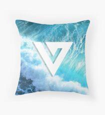 Seventeen - Ocean Logo Throw Pillow