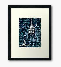 The Bird Cage Framed Print