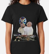 DJ Earth Pope Francis, EDM Holy Father Classic T-Shirt