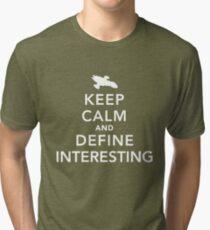 "Define ""interesting"" Tri-blend T-Shirt"