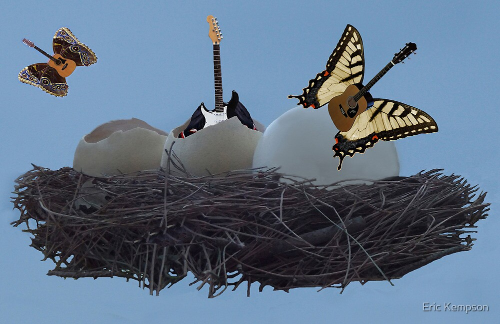 Birth Of The Guitar by Eric Kempson