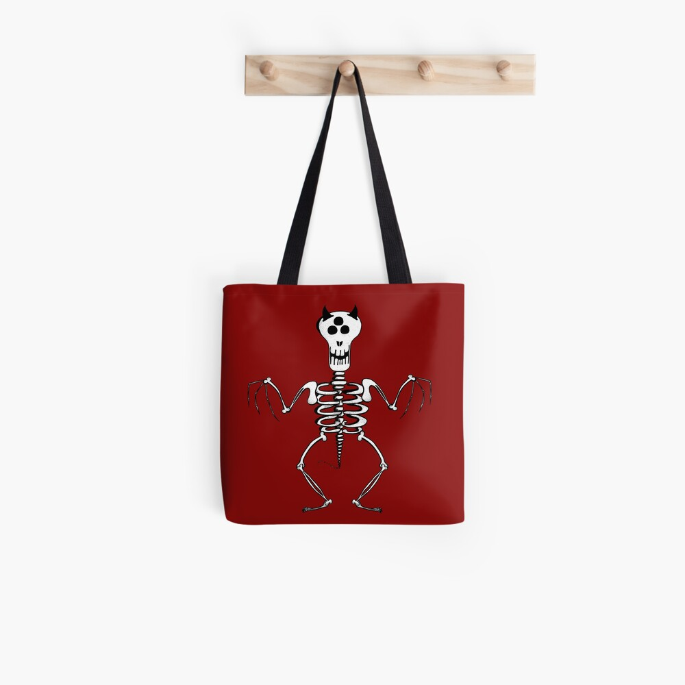 Monster's skeleton Tote Bag