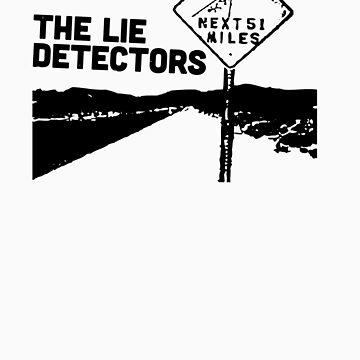 The Lie Detectors (black print) by misoramen