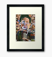 The Doctor Has Many Faces Framed Print
