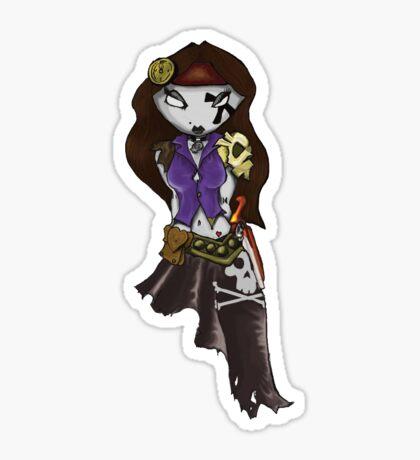 Pirate Grrrl Sticker