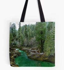 River Of Many Greens Tote Bag