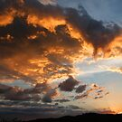 Ominous Clouds at Sunset by John Carpenter