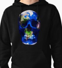 Earth Skull  T-Shirt