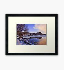 Old Garmouth Railway Bridge Framed Print