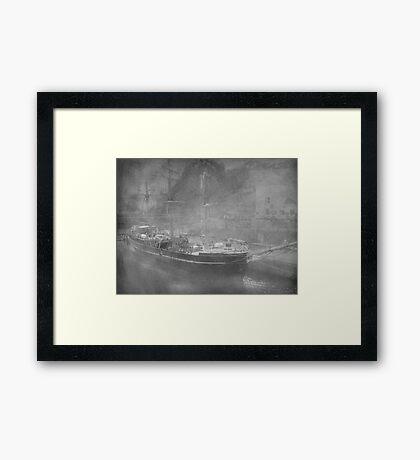 A Misty Morn Framed Print