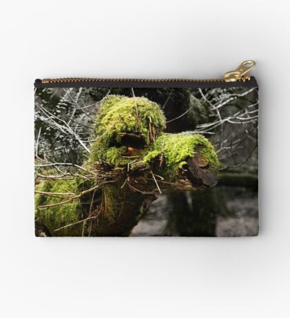 Camel Tree Zipper Pouch