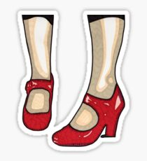 The Red Shoes T-Shirt Sticker