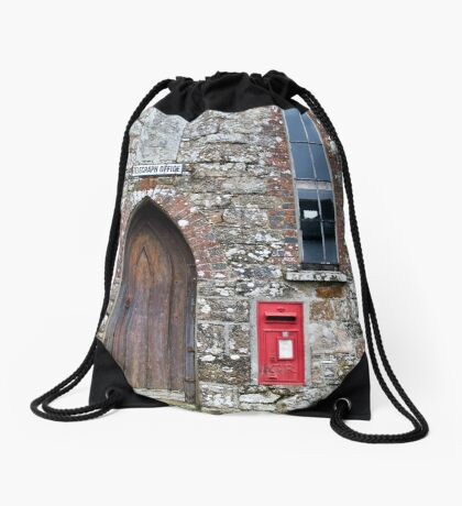 Telegraph Office Drawstring Bag