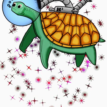 Ozone Sam The Space Turtle T-Shirt by BFGSM0121