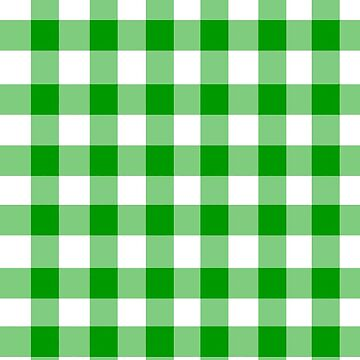 Green gingham by BettyBanana