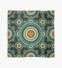 back to 70's, blue,green, yellow Scarf