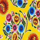 Yellow Flowers by BettyBanana