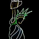 """""""Give me your huddled masses yearning for a beer ..."""" by Bruce  Dickson"""