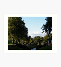 Strathaven Park, Scotland Art Print