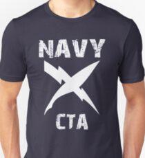 US Navy CTA Insignia - White T-Shirt