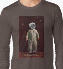 Who Says I'm Scart? (Vintage Halloween Card) Long Sleeve T-Shirt