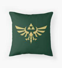 Die Legende von Zelda Royal Crest (Gold) Kissen