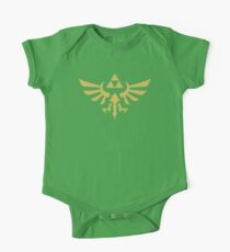 Die Legende von Zelda Royal Crest (Gold) Baby Body Kurzarm