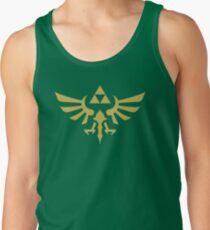 The Legend of Zelda Royal Crest (gold) Men's Tank Top