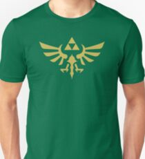 Die Legende von Zelda Royal Crest (Gold) Slim Fit T-Shirt