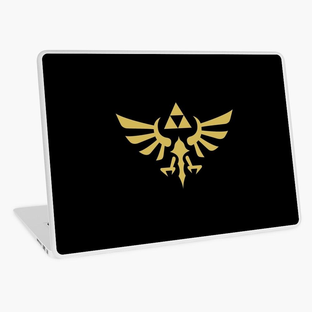 The Legend of Zelda Royal Crest (gold) Laptop Skin