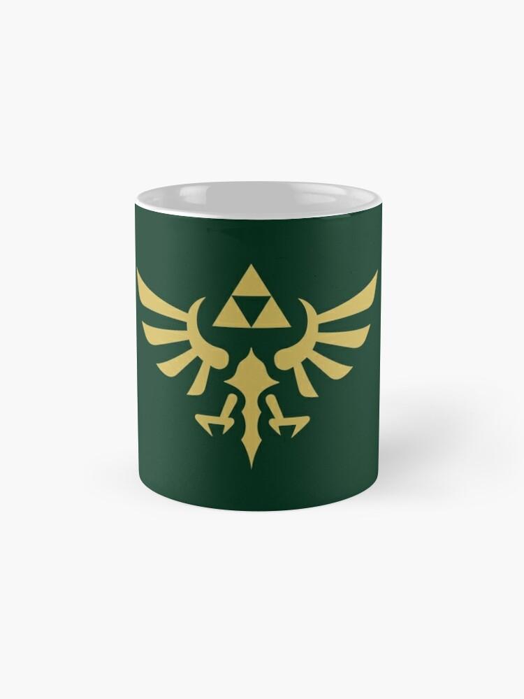 Alternate view of The Legend of Zelda Royal Crest (gold) Mug