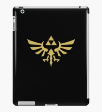 The Legend of Zelda Royal Crest (gold) iPad Case/Skin