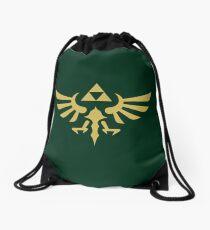 The Legend of Zelda Royal Crest (gold) Drawstring Bag