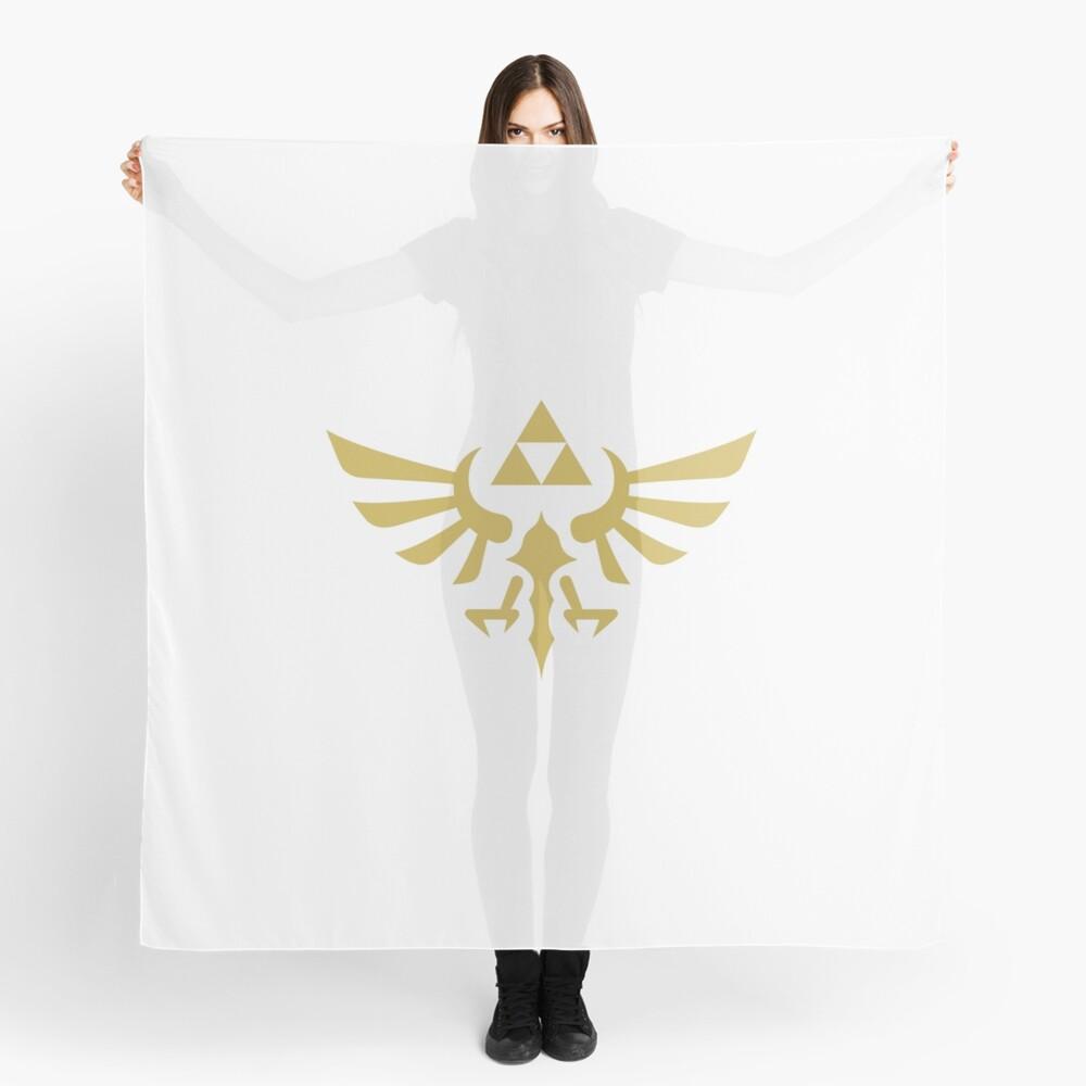 The Legend of Zelda Royal Crest (gold) Scarf