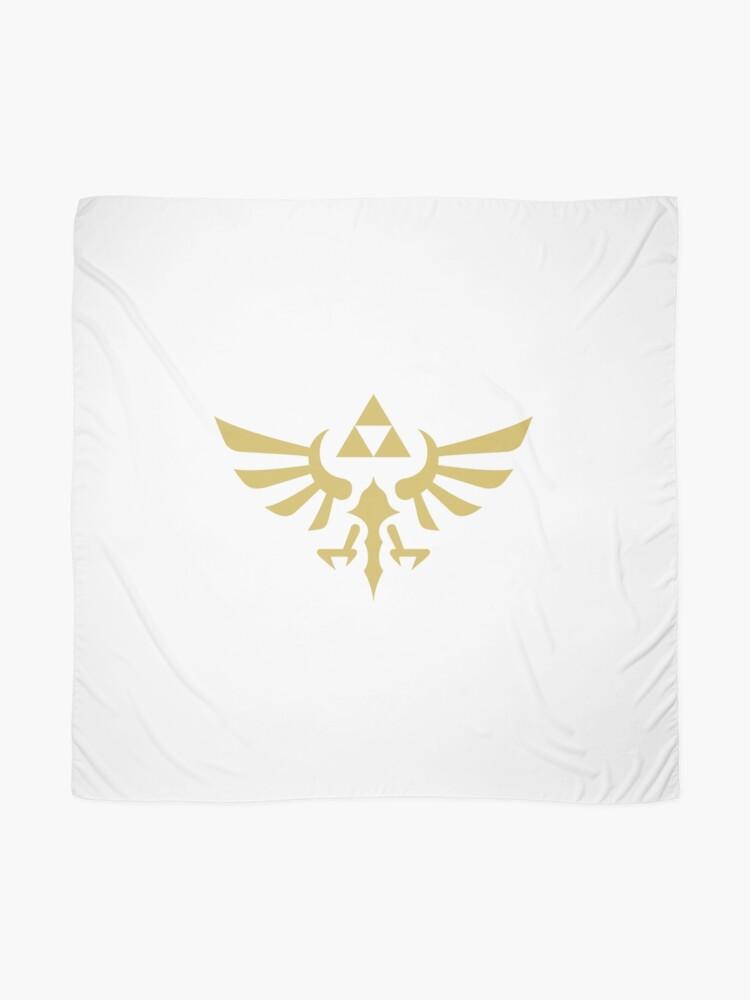 Alternate view of The Legend of Zelda Royal Crest (gold) Scarf