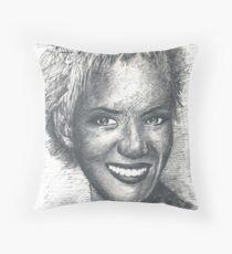 halle berry Throw Pillow
