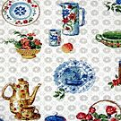 Vintage Dutch Kitchen by BettyBanana