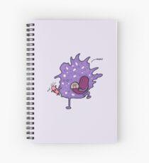 Macrophage says NOM! Spiral Notebook