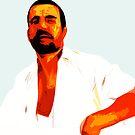 Arab In A White Shirt by Craig Hewitt