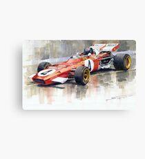 Ferrari 312 B2 1971 Monaco GP F1 Jacky Ickx Canvas Print