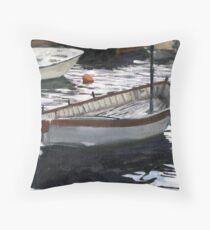Portofino Anchorage Throw Pillow